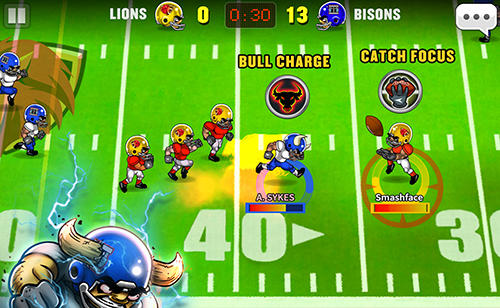 Football heroes online Screenshot