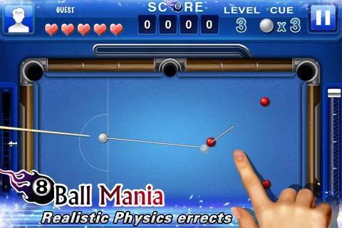 8 ball mania für Android