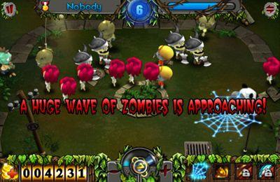 Screenshot Zombiejagd auf dem iPhone
