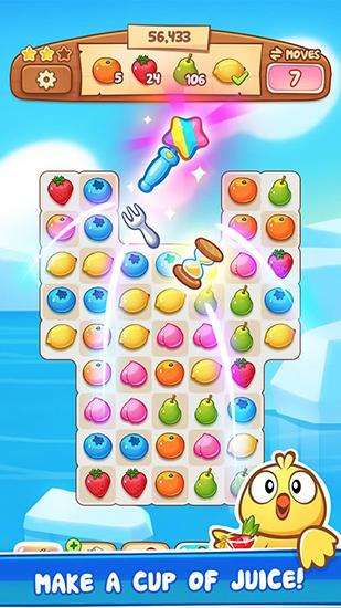 3 Gewinnt-Spiele Fruit revels auf Deutsch