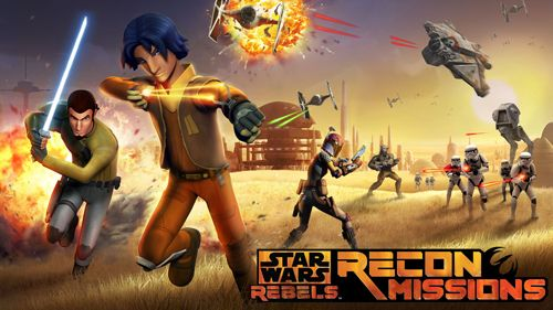 logo Star wars rebels: Recon missions