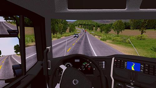 Игры про дальнобойщиков World truck driving simulator на русском языке