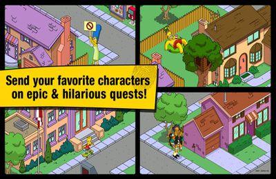 Strategiespiele: Lade Die Simpsons: Angeklopft auf dein Handy herunter