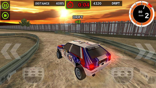 Rally racer: Dirt für Android