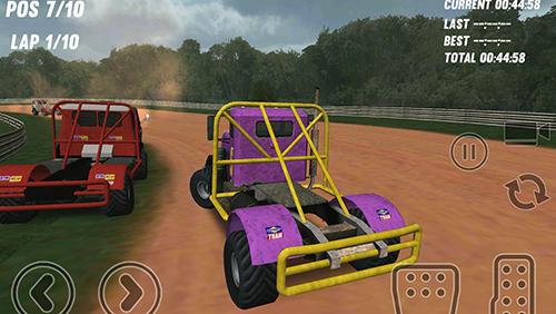 Big truck rallycross скриншот 1