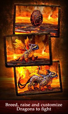 Simulator-Spiele Dragons of Atlantis für das Smartphone