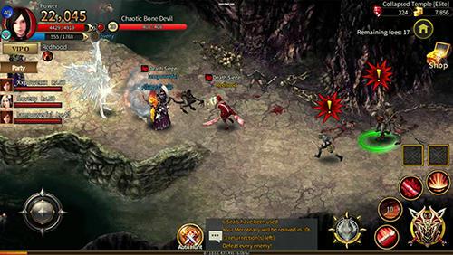 RPG Arcane online für das Smartphone
