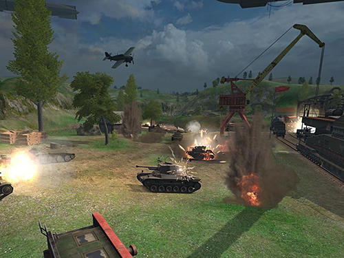 Battle tanks: Legends of world war 2 captura de tela 3