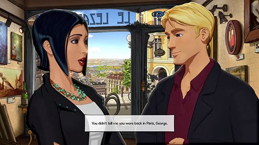 Broken sword 5: The serpent's curse. Episode 1: Paris in the spring для Android
