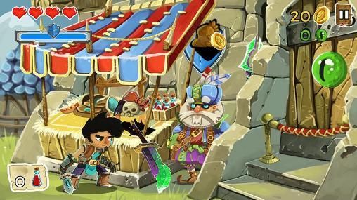 Arcade-Spiele Grimwar für das Smartphone