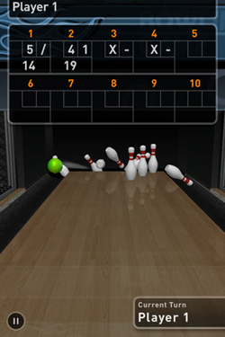 Bowling Game 3D in Russian