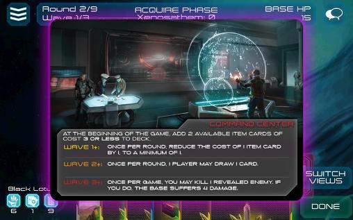 Multiplayerspiele Xenoshyft: Onslaught für das Smartphone