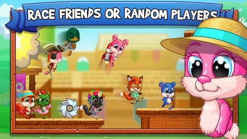 Arcade Fun run arena: Multiplayer race für das Smartphone