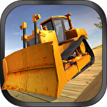 Иконка Bulldozer driving 3d: Hill mania