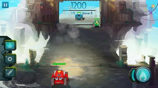 Arcade Tank fortress für das Smartphone