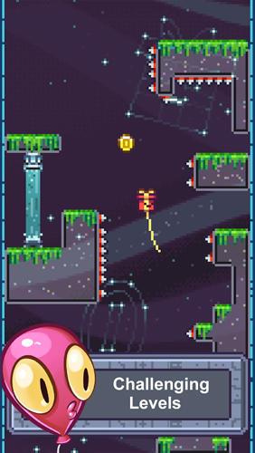 Pixelspiele The balloons: No spikes allowed auf Deutsch
