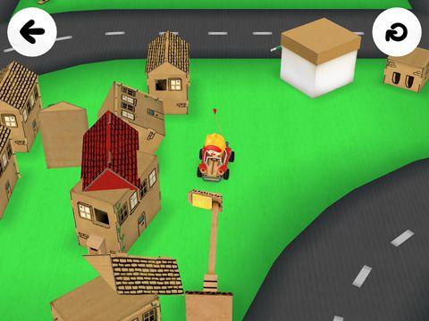 Screenshot Toca Autos auf dem iPhone