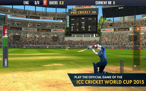 de sport ICC pro cricket 2015 pour smartphone