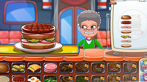 Kulinarischen Spiele Top burger chef: Cooking story auf Deutsch
