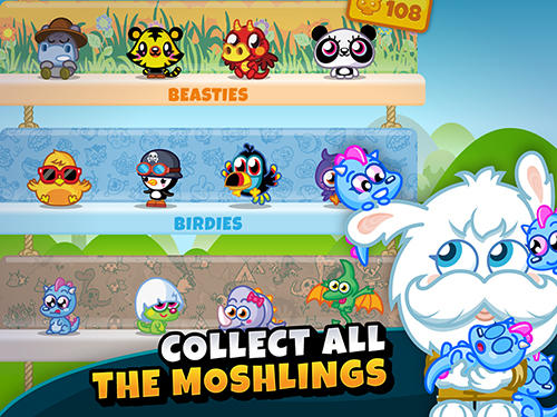 Moshi monsters egg hunt für Android