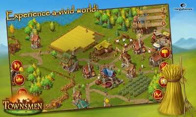 Economic strategy games Townsmen Premium in English