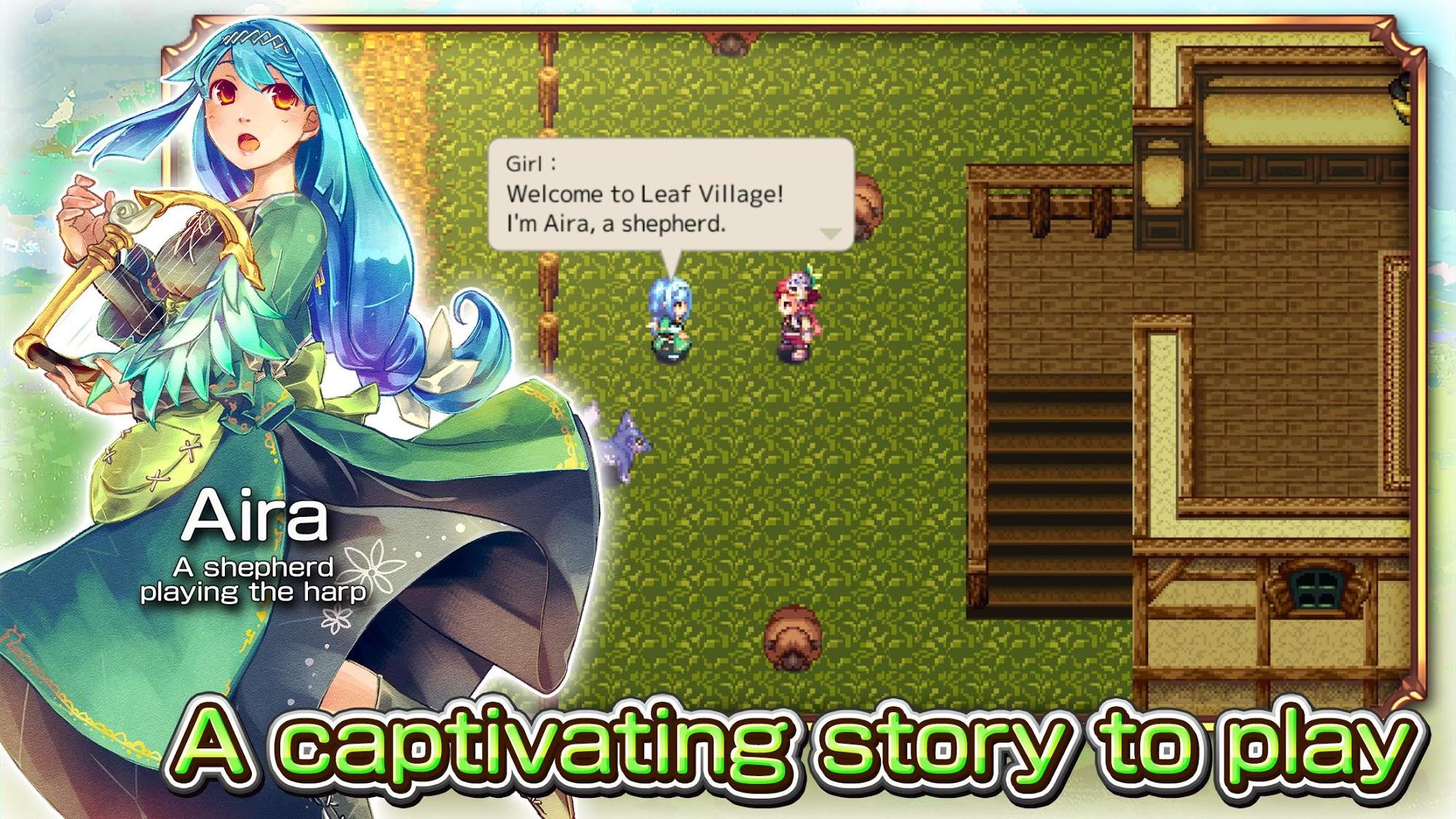 RPG Monster Viator captura de tela 1