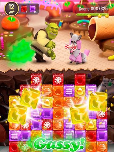 3 Gewinnt Shrek sugar fever für das Smartphone