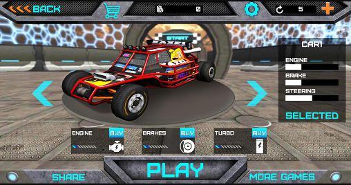 3D extreme stunt: Formula racer screenshot 4
