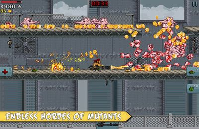 Arcade-Spiele: Lade Mutante auf dein Handy herunter