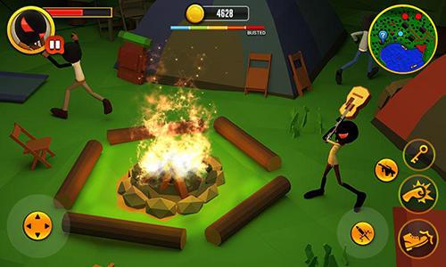 Camper grand escape story 3D Screenshot