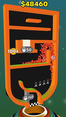 Logikspiele Split balls 3D für das Smartphone
