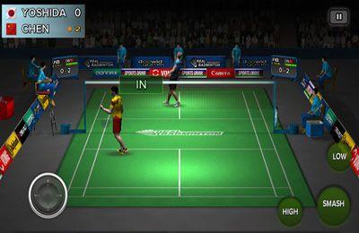 Screenshot Echtes Badminton auf dem iPhone
