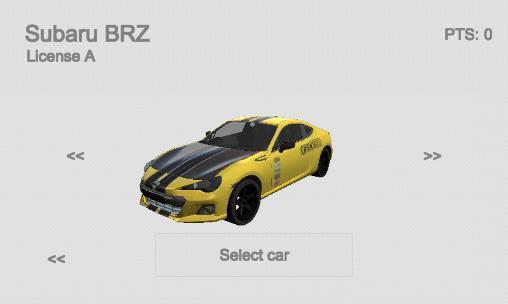 Rennspiele Extreme car racing für das Smartphone