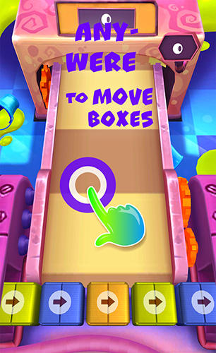 Arcade-Spiele Cakes clash für das Smartphone