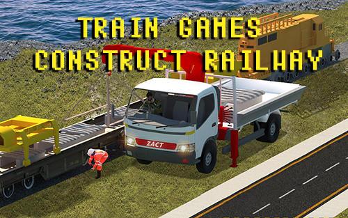 Train games: Construct railway screenshots