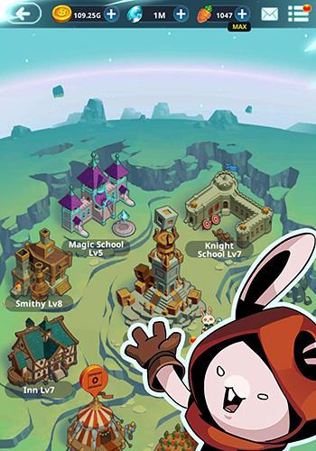 RPG Rabbit in the Moon für das Smartphone