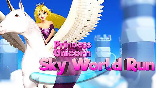 Princess unicorn: Sky world run capture d'écran 1