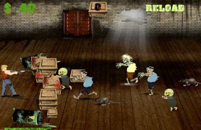 Зомби - Барикады для Айфон