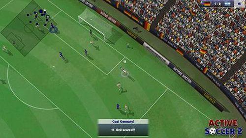 Активный футбол 2 для iPhone бесплатно