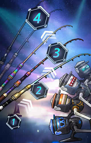 Jogos de arcade Fishing season: River to oceanpara smartphone