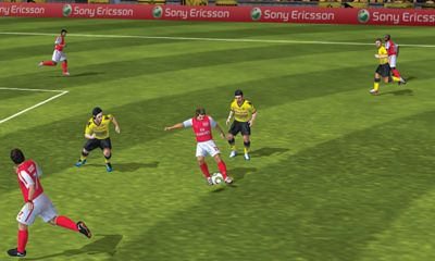 Sports games FIFA 12 for smartphone