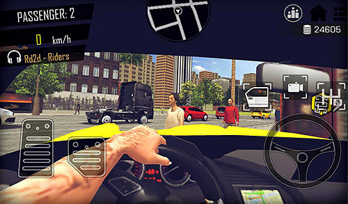 Open world driver: Taxi simulator 3D free racing for Android