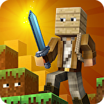 Hide and seek treasures Minecraft style icon