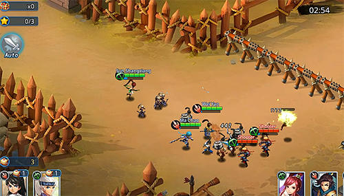 Warlords battle: Heroes für Android