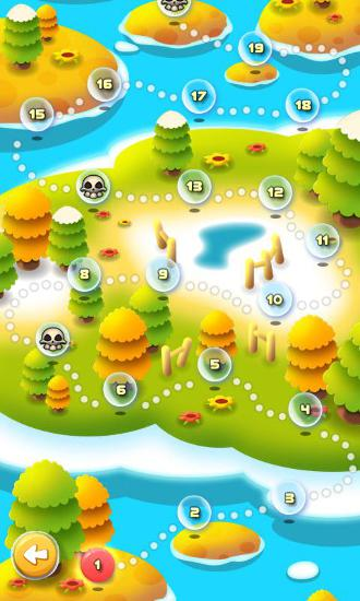 Bubble bust! Popping planets für Android