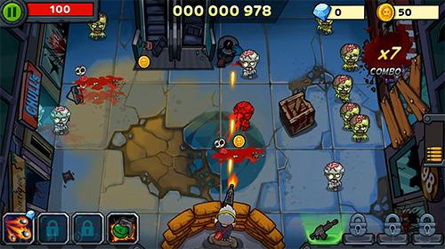 Arcade-Spiele Zombie survival: Game of dead für das Smartphone