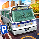 Bus station: Learn to drive! Symbol
