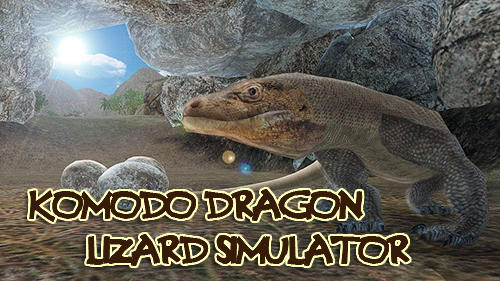 Komodo dragon lizard simulator capture d'écran 1