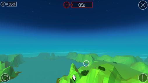 Pioneer skies: 3D racer für Android