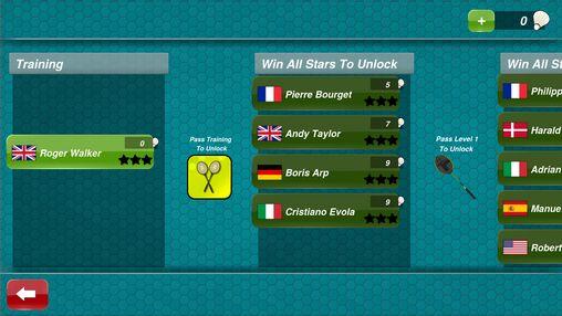 Deportes Badminton 3D para teléfono inteligente